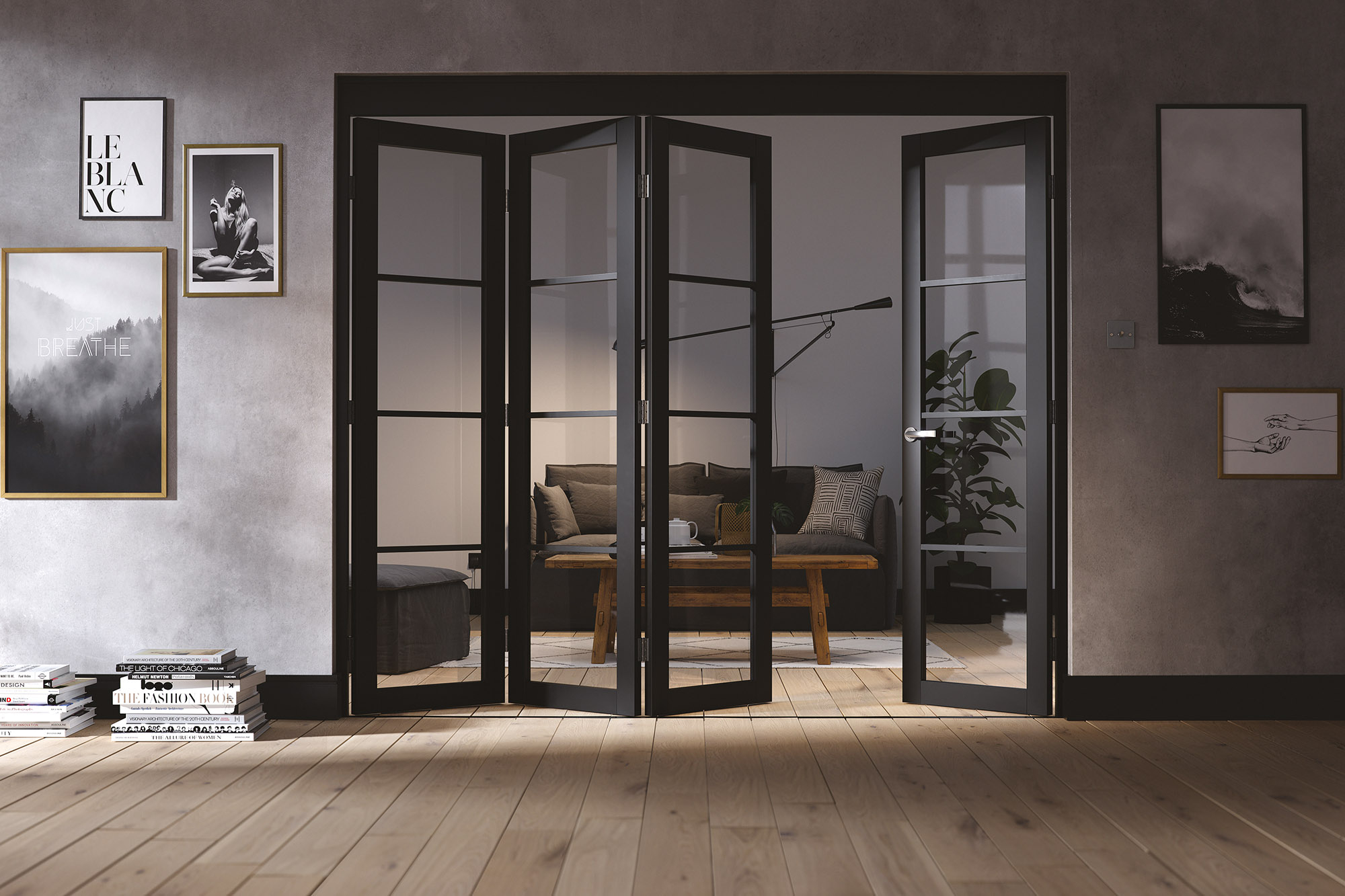 Internal Roomfold with Soho Doors