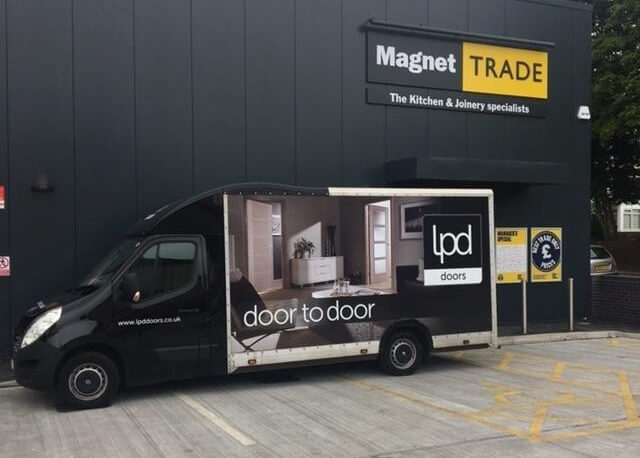 The show van is very popular so if you would like us to visit you please get in touch! Donu0027t miss out! Call us on 0113 251 3900 and ask for Emily ... & LPD Doors Roadshow Van Displaying 12 Quality Doors | LPD Doors